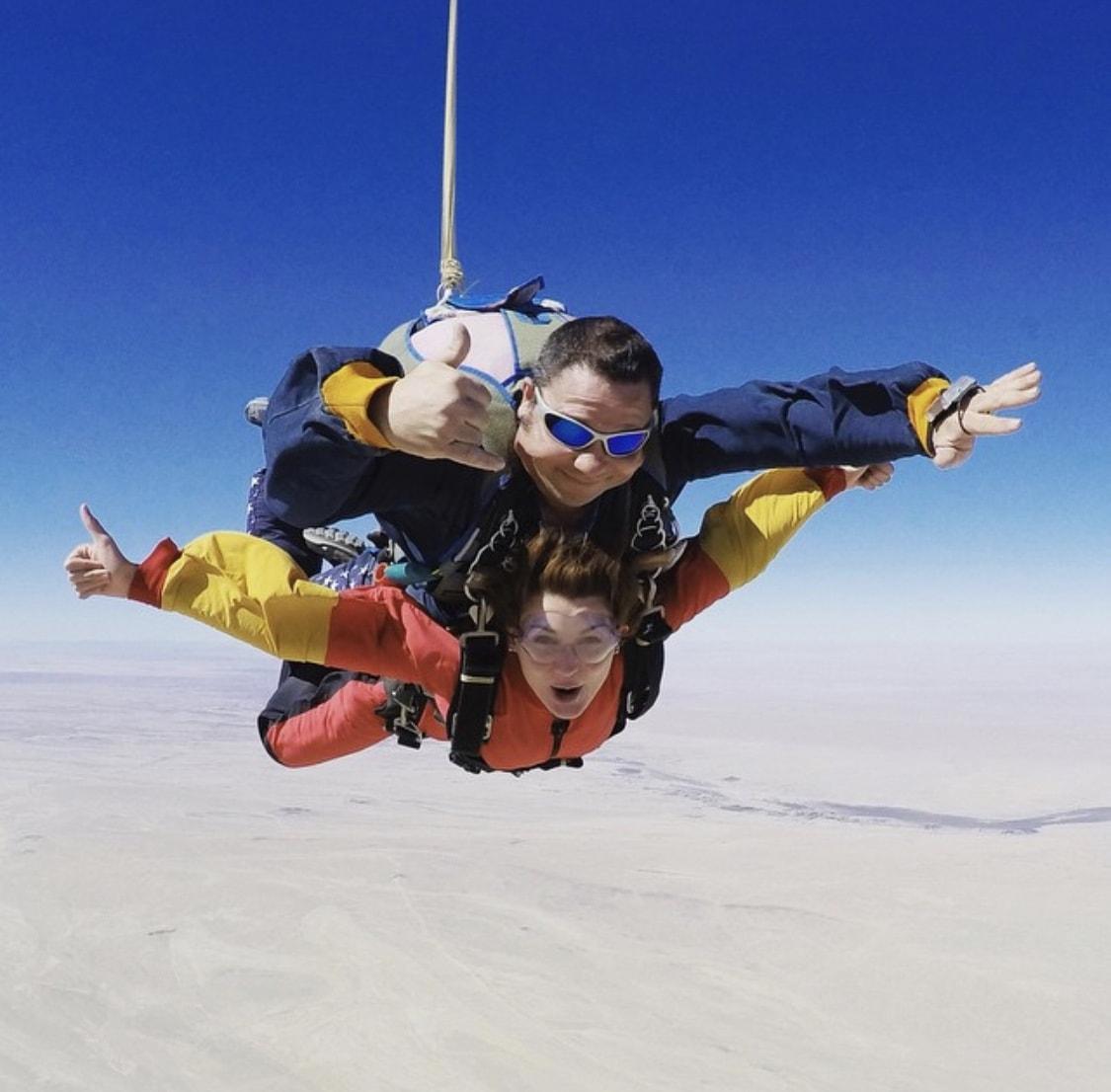 voyage en Namibie parachute