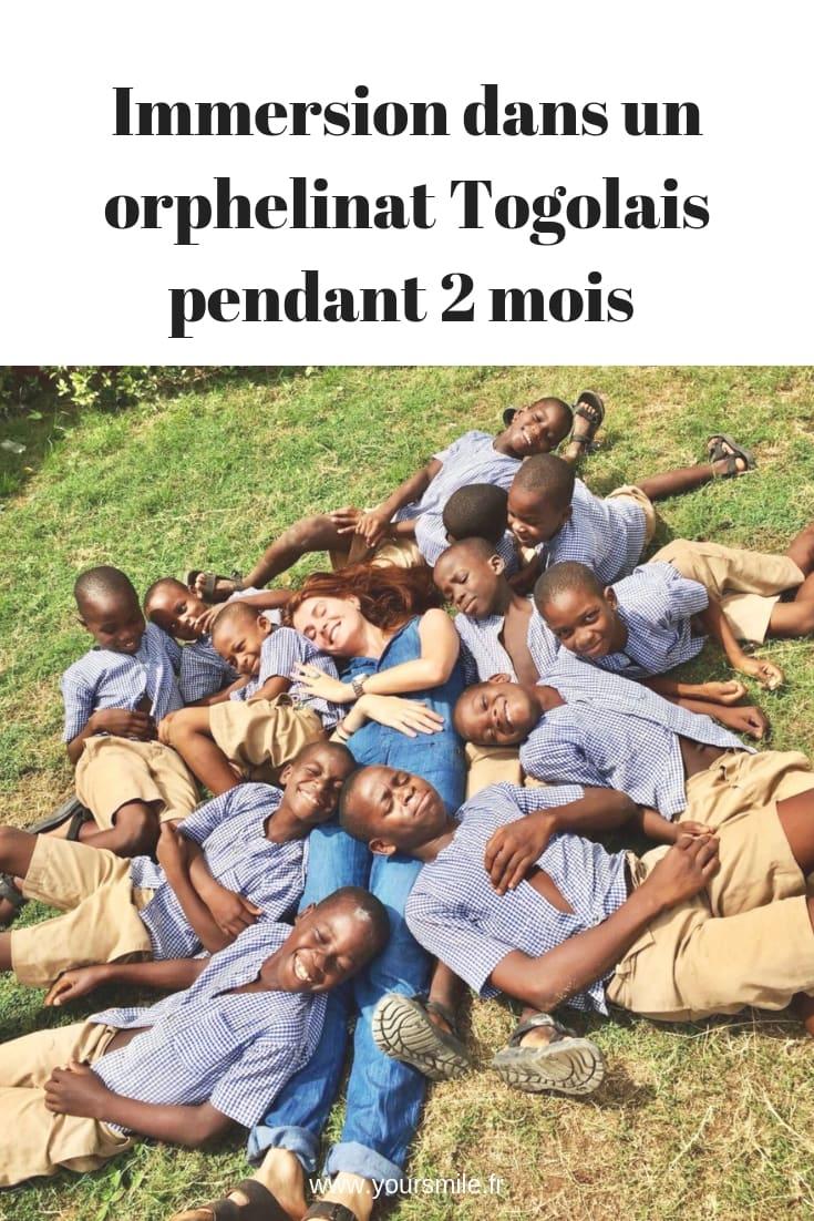 Immersion dans un orphelinat Togolais durant 2 mois